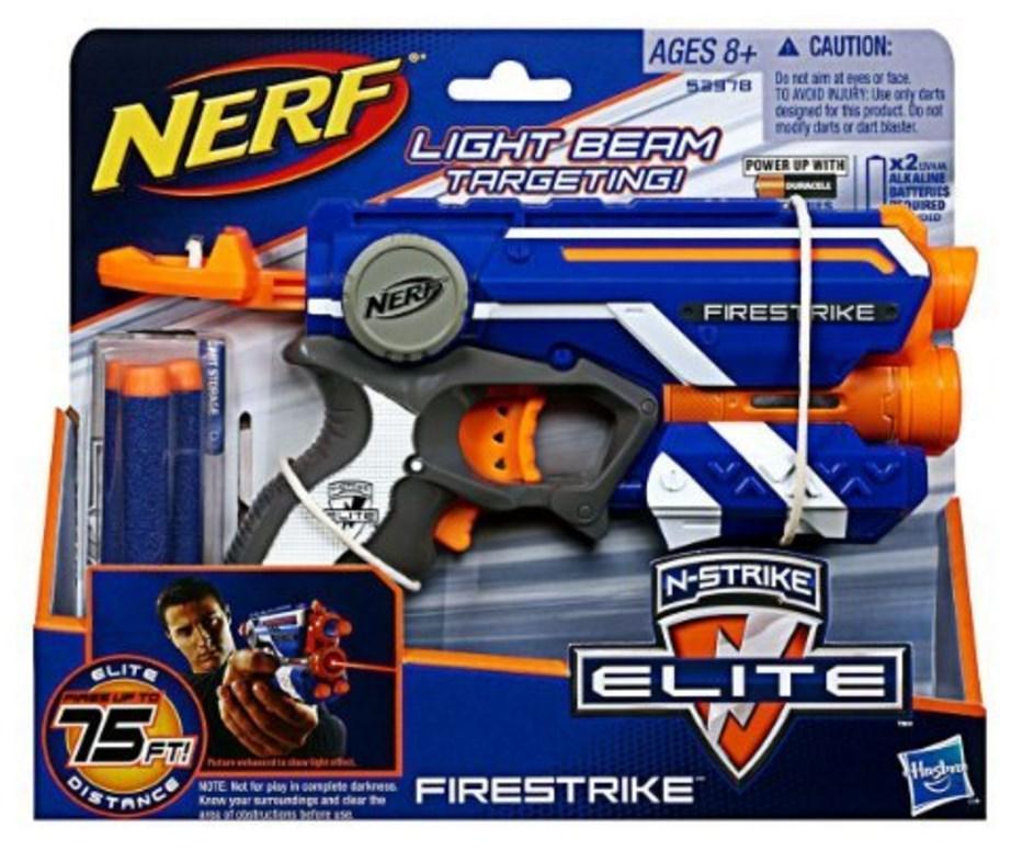 50% de réduction sur le 2ème jouet Nerf, Transformers, My Little Pony, Play-Doh - Ex : 2 Pistolets Nerf Firestrike