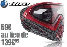 Masque PaintBall Dye I4 - Skinned red ou green