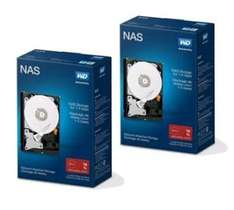 """Lot de 2 Disques durs internes 3.5"""" Western Digital Red Drive Nas - 2x2 To"""