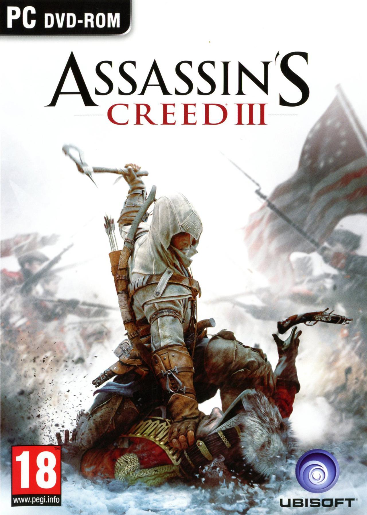 Assassin's Creed III - Édition Deluxe (jeu + season pass) sur PC (dématérialisé, Uplay)