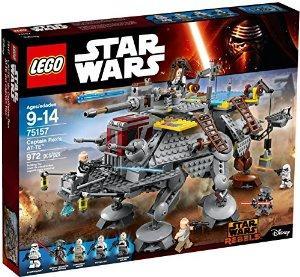 Jeu de Construction Lego Star Wars Captain Rex's AT-TE Construction Set n°75157