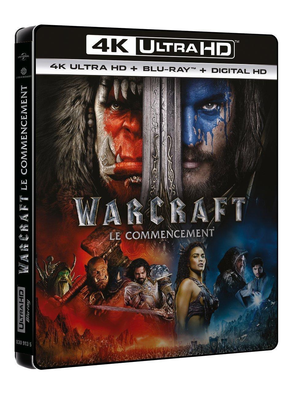 [Précommande] Blu-Ray 4K Ultra HD Warcraft : Le Commencement