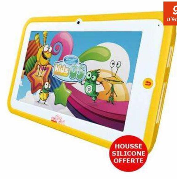 "Tablette 7"" Videojet KidsPad 2 pour Enfants + Housse en silicone"