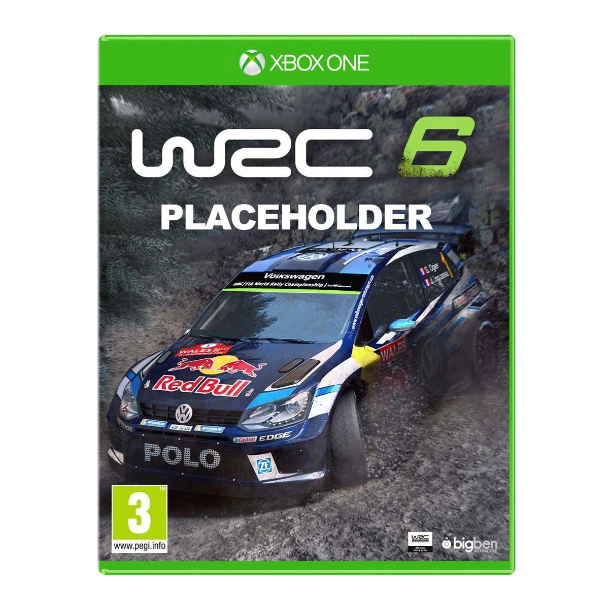 WRC 6 - FIA World Rally Championship sur Xbox One ou PS4 (+ 16.17€ en SuperPoints)