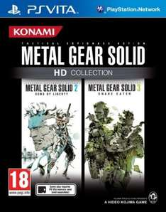 Metal Gear Solid HD Collection [Import Anglais] - PS3 à 19.34€, PS Vita