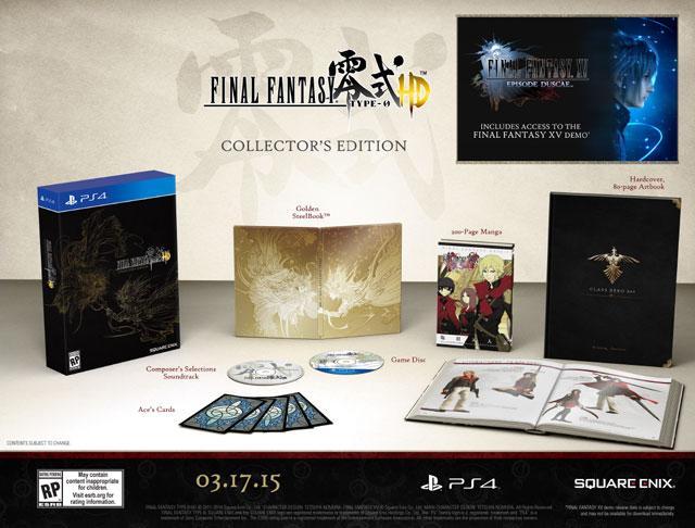 Final Fantasy Type 0 HD sur PS4 - Edition Collector (+16,5€ en SuperPoints) à 55€