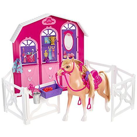 Sélection de jouets et jeux en promotion - Ex : Mattel L'écurie de Barbie