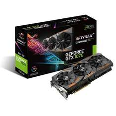 Carte graphique Asus GeForce GTX 1070 STRIX OC 8 Go + Gears of War