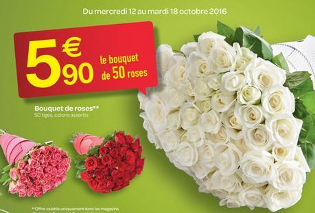 Bouquet de 50 Roses - Coloris au choix