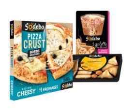 Pizzas + Galettes + Taka Sodebo (via Shopmium + 3 BDR)