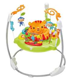 Trotteur Fisher Price Jumperoo Jungle Sons Lumières