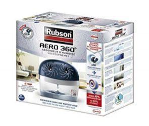 Déshumidificateur d'air ambiant Rubson Aero 360 + 6 recharges (via 12.45€ sur la carte de fidélité)