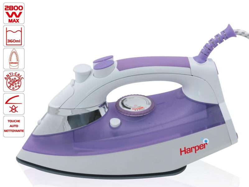 Fer à repasser Harper HFV52 Système anti calcaire 2800W