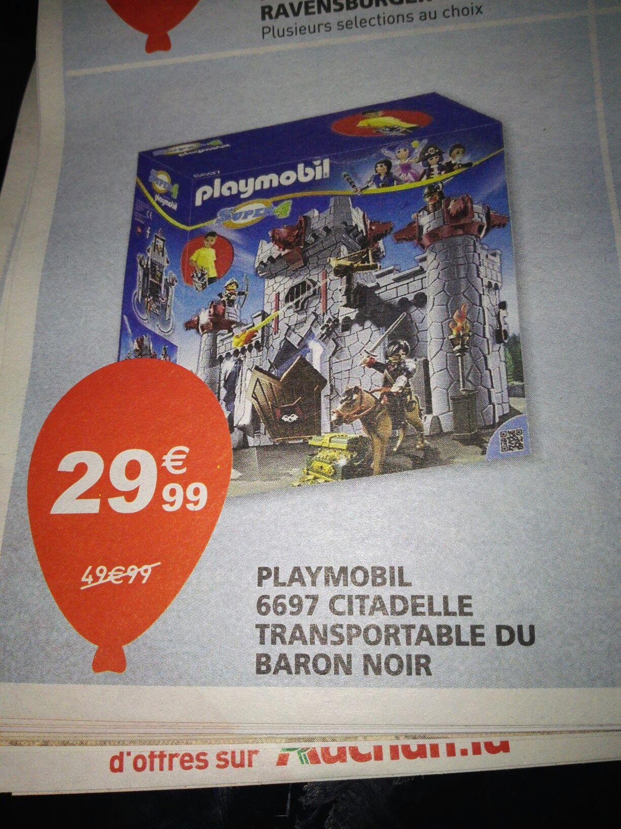 Jouet Playmobil 6697 : Citadelle transportable du Baron Noir