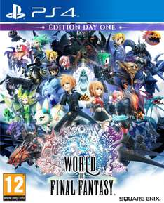 [Précommande] World of Final Fantasy - Day One Edition sur PS4