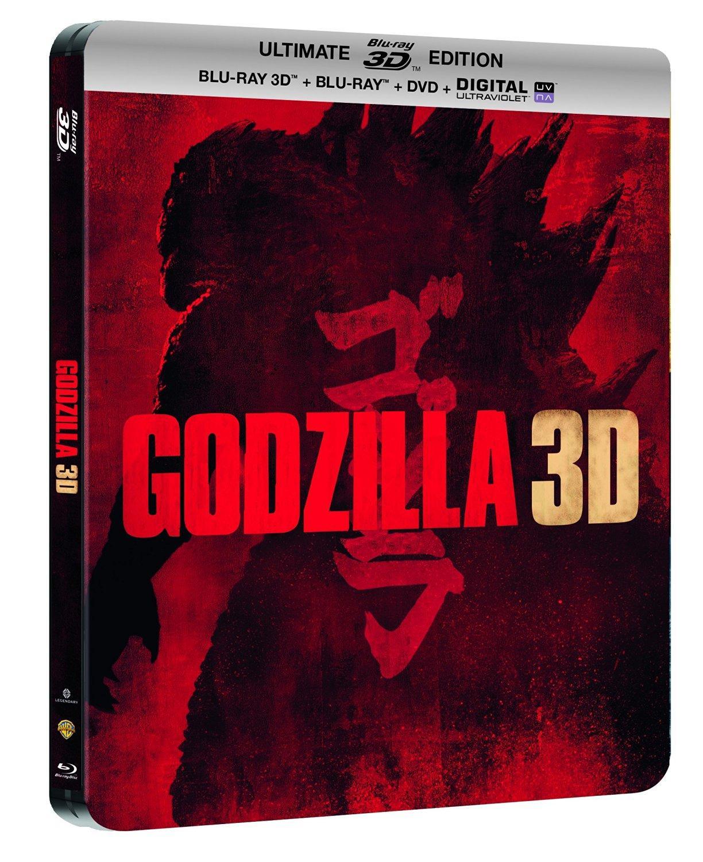 Blu-ray 3D Godzilla - Steelbook Ultimate Edition (Blu-ray + 3D + steelbook + DVD + Digitale)