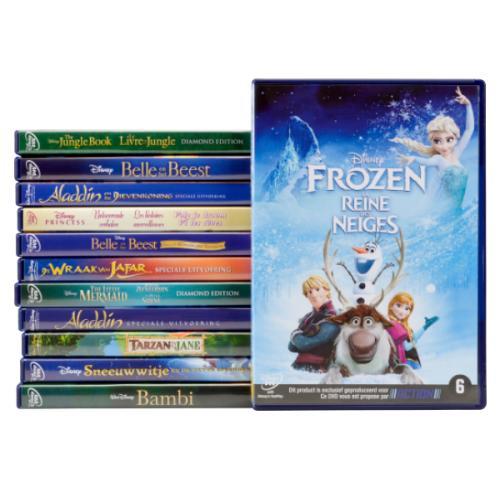 Sélection de DVD Disney en promotion - Ex: La Reine des Neiges