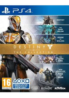 Jeu Destiny : The Collection (PS4 / Xbox One)