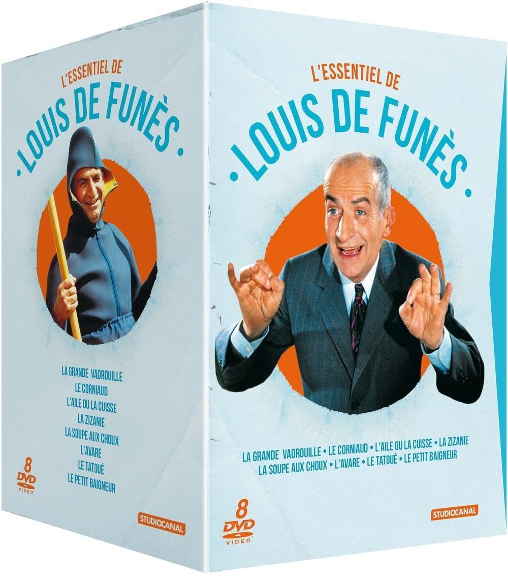 Coffret DVD L'Essentiel de Louis de Funès (8 disques)