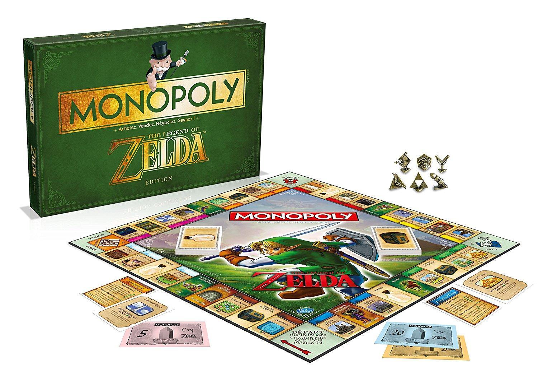 Jeu de société Monopoly Zelda (Version Française)
