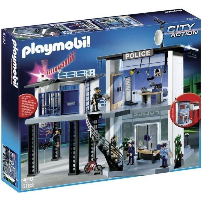 Sélection de Playmobil en promotion - Ex : Le Commissariat de Police Playmobil n°5182