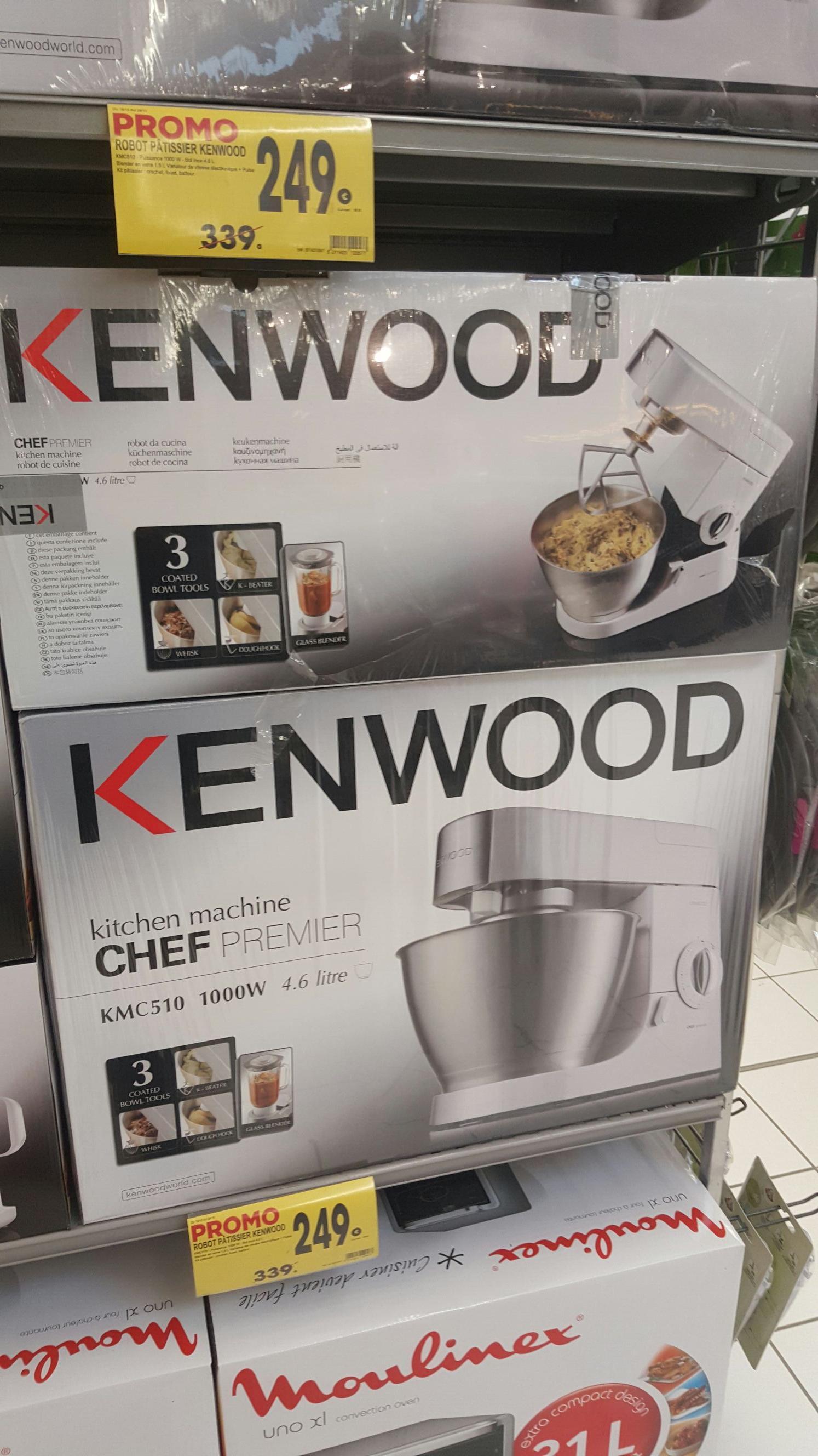 Robot patissier Kenwood premier chef