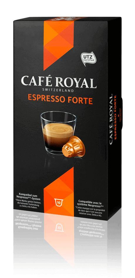 60 capsules Café Royal compatibles Nespresso (via 5.60€ sur la carte + Shopmium + C-network)
