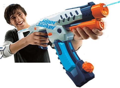 Pistolet à eau Nerf Supersoaker Switchshot