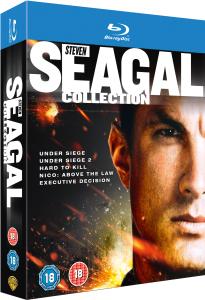 Coffret Blu-ray Steven Seagall Collection (5 films)