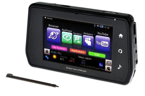 """Lecteur multimédia portable Clarion NRE1B 4 Go - Ecran tactile 5,1"""" - Wi-Fi - Tuner TNT, Navigation GPS"""
