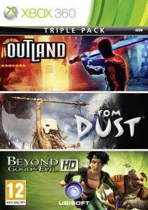 Beyond Good And Evil + Outland + From Dust sur  Xbox 360
