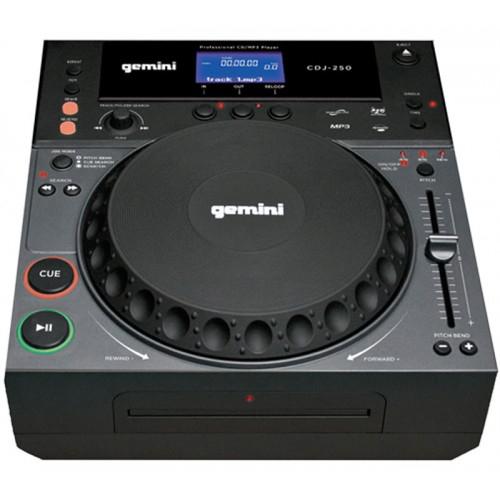 Platine CD à plat Gemini CDJ-250 MP3 pour le scratch