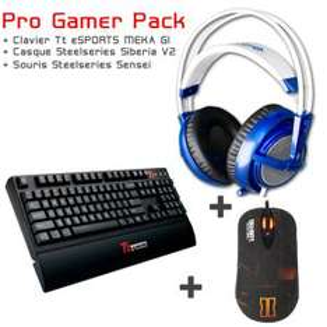 Pack gamer Sensei Raw CoD BO II + Meka G1+  Siberia V2