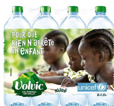 Sélection de produits en promotion - Lot de 4 Packs d'eau Minérale Naturelle Volvic (8 x 1.5L)