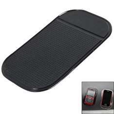 Pad anti-glisse en silicone - Réutilisable et lavable (Noir)