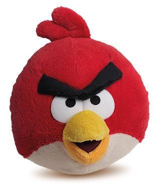 1 peluche Angry Birds offerte pour 30 vignettes collectées