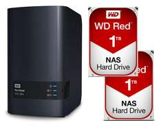 """Nas Western Digital My Cloud EX2 Ultra + 2 disques durs 3.5"""" WD Red 1 To (2 To)"""