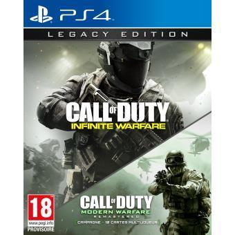 Call of Duty Infinite Warfare Edition Legacy sur PS4 + 10€ offerts en chèque cadeau
