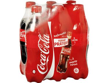 3 Packs 6 x 50cl de Coca Cola