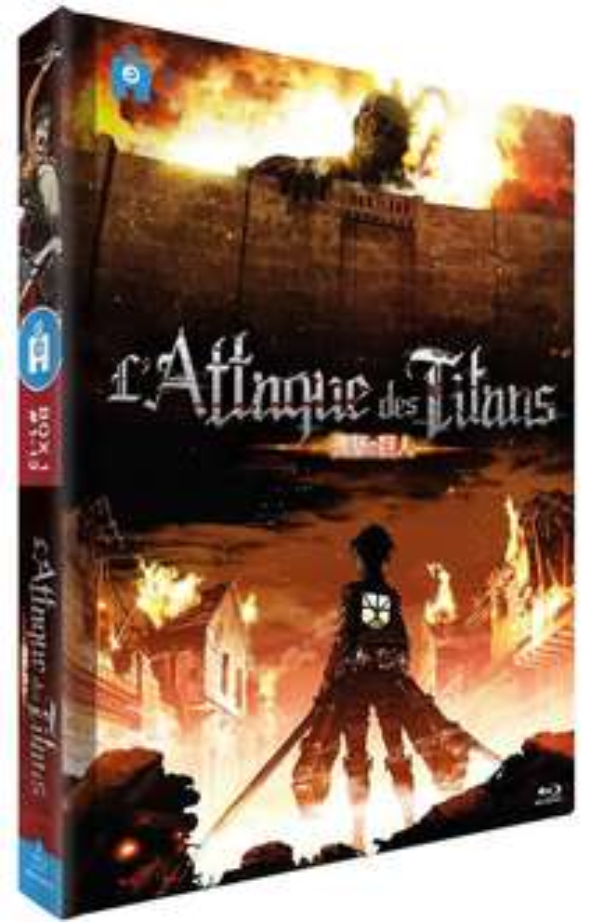 Sélection de coffrets Blu-ray en promotion - Ex : L'Attaque des Titans (Partie 1)