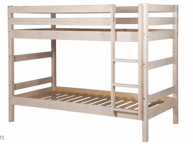 Lit superposé en bois Happy séparable - 90 x 190 cm