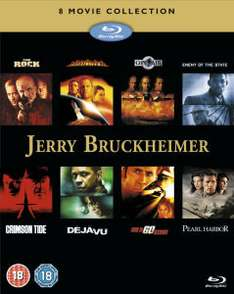 Coffret 8 films en Blu-ray Jerry Bruckheimer Action Collection