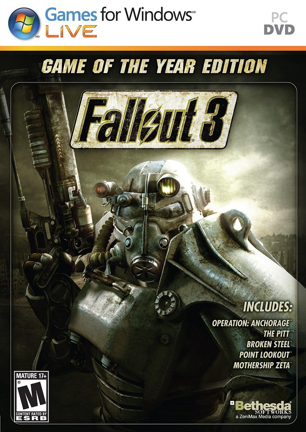 Fallout 3 GOTY Edition sur PC