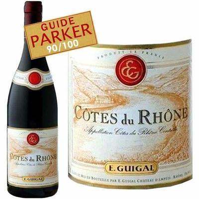 Bouteille de Vin Côtes du Rhône Guigal 2012 - 75CL