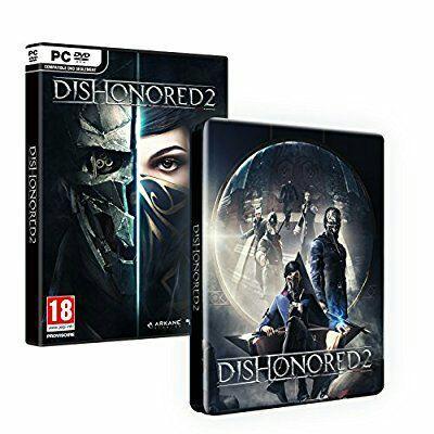[Précommande] Dishonored 2+  Imperial Assassin's Pack +  Dishonored Definitive Edition sur PC (Dématérialisés - Steam)