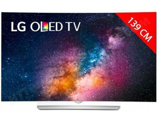 """TV 55"""" LG 55EG920V - OLED, 4K UHD, HDR, 3D, Incurvé"""