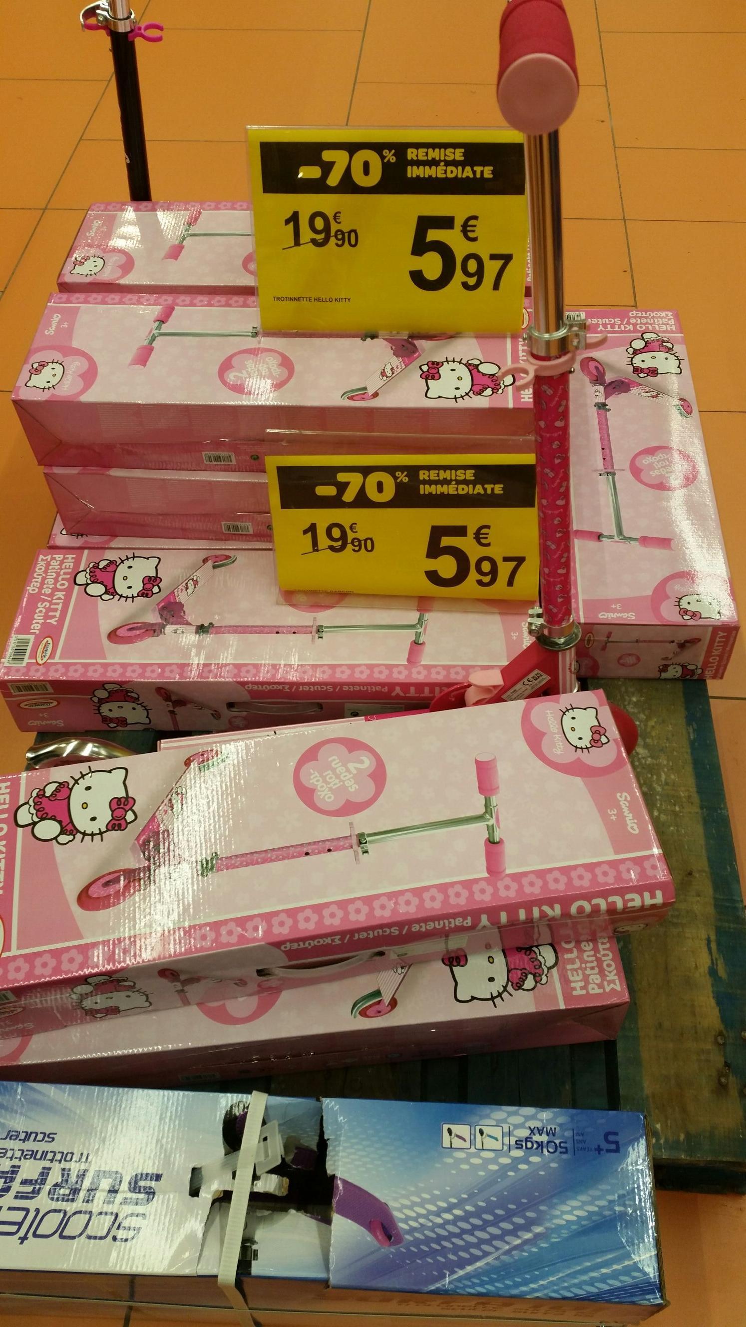 Trottinette Hello Kitty
