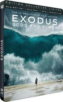 Blu-ray 3D Exodus (+ Blu-ray + DVD + version numérique + steelbook)