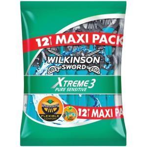 2 packs de Rasoirs jetables Wilkinson Sword Xtreme 3 Pure Sensitive
