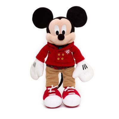 3 peluches dont Mickey ou Minnie Edition Festive + 2 autres parmi une sélection